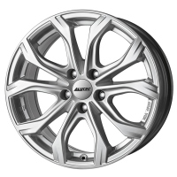 Alutec W10 Silver Volkswagen Touran (2015.09-)/