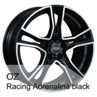 Disks OZ Adrenalina Black Volkswagen Touran (2015.09-)/