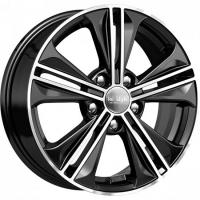 KIK KC778 Black Polished Volkswagen Touran (2015.09-)/