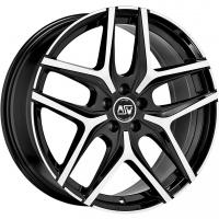 MSW 40 Black Polished Toyota Verso (AR2, 2009-)/