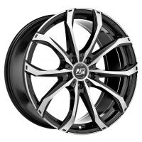 MSW 48 Black Full Pol Volkswagen Touareg (R5, 2.5TDI, 2003-2010)/